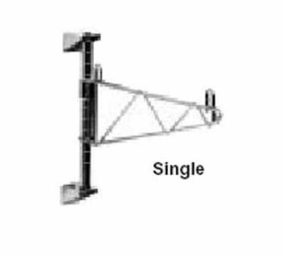 Metro 1WS18C Super Erecta Chrome Shelf Support For 18-in