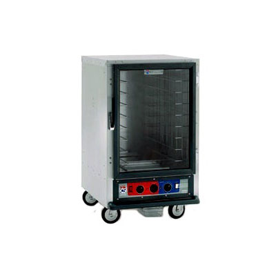 Metro C515-CFC-L C5 1/2-Height Heated Proof & Hold Cabinet, Clear Door, Lip Load Slides
