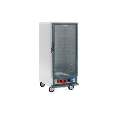 Metro C517-HFC-U C5 1 Series Heated Holding Cabinet, 3/4 Height, Universal Wire Slides