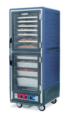 Metro C539CDCUBU C5 Full Heated Proof & Hold Cabinet, Blue Insulated Armour, Clear Dutch