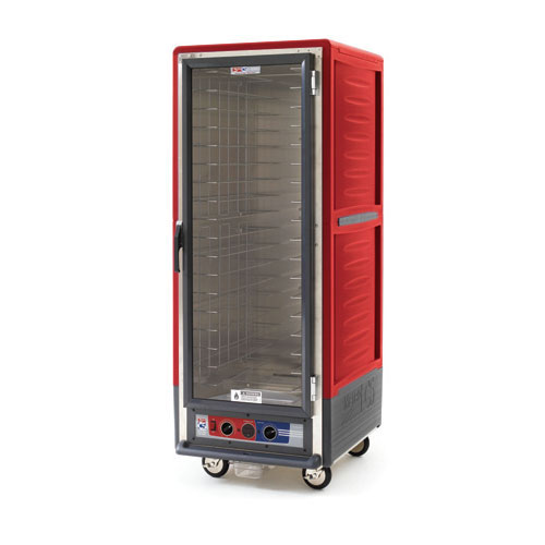 Metro C539CFCU C5 3 Series Heated Holding & Proofing Cabinet, Full H, UnivSlides