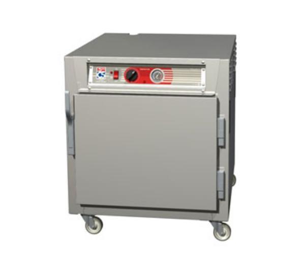 Metro C563-NFS-U C5 Undercounter Heated Holding Cabinet, Aluminum, Solid Door, Universal Slides