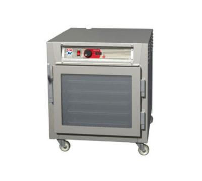 Metro C563-SFC-U C5 Undercounter Heated Holding Cabinet, Stainless, Clear Door, Universal Slides