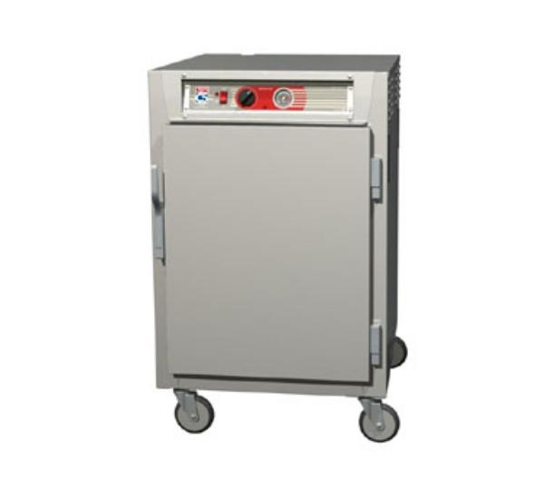 Metro C565-SFS-LPFS C5 1/2-Height Pass Thru Heated Holding Cabinet, Stainless, Solid Doors, Lip Load