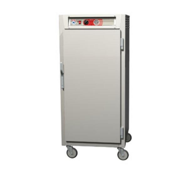Metro C567-SFS-U C5 3/4-Height Heated Holding Cabinet, Stainless, Solid Door, Universal Slide