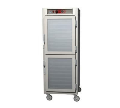 Metro C569LSDCU C5 6 Series Heated Holding Cabinet, Full H, Univ Slides, Dutch Glass Doors