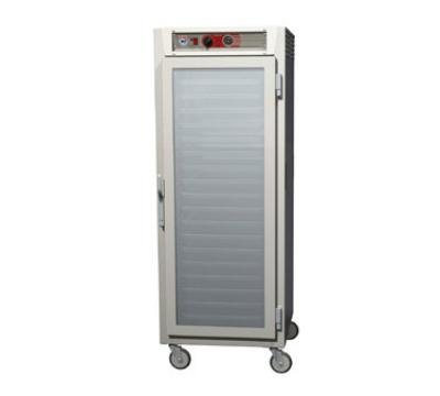 Metro C569LSFCUPFC C5 6 Series Heated Holding Cabinet, Full H, Pass Thru, Universal, Glass Drs