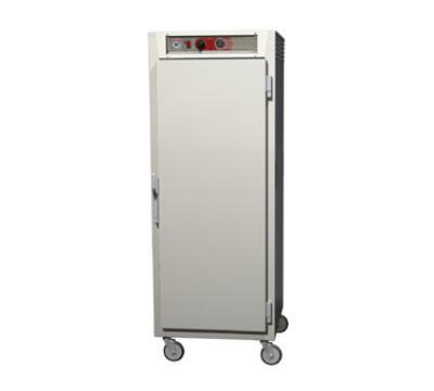 Metro C569LSFSUPFS C5 6 Series Heated Holding Cabinet, Full H, Pass Thru, Univ Slides, Solid Drs