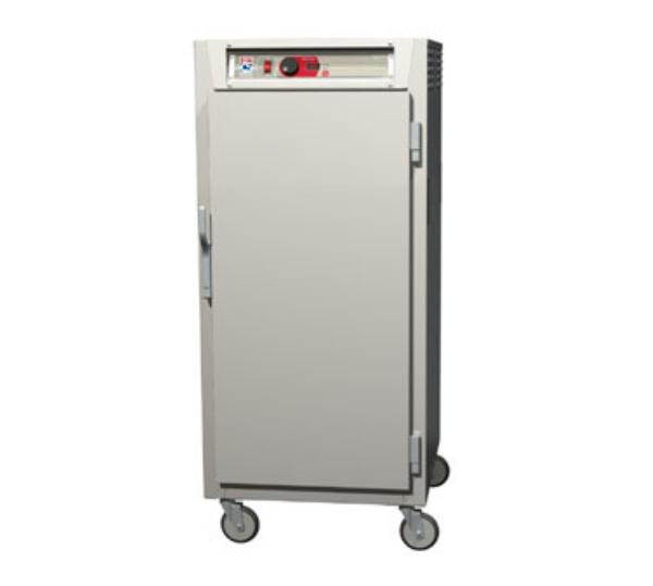 Metro C587-SFS-L C5 3/4-Height Control Temp Holding Cabinet, Stainless, Solid Door, Lip Load