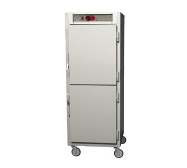 Metro C589-NDS-LPDC C5 Full Height Pass Thru Control Temp, Aluminum, Solid/Clear Dutch, Lip Load
