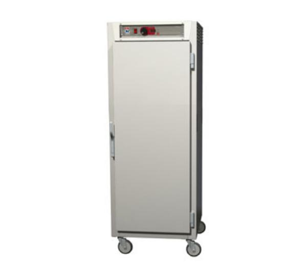 Metro C589-NFS-LPFC C5 Full Height Pass Thru Control Temp Cabinet, Aluminum, Solid/Clear, Lip Load