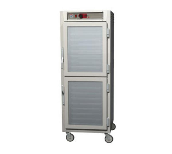 Metro C589-SDC-LPDS C5 Full Height Pass Thru Control Temp, Stainless, Clear/Solid Dutch, Lip Load