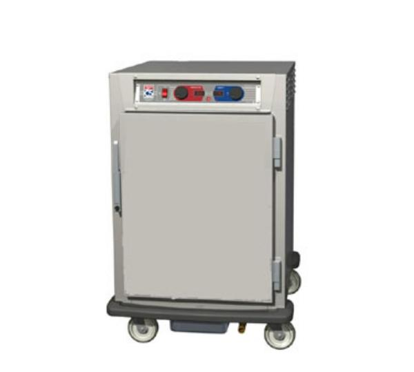 Metro C595-NFS-LPFS C5 1/2-Height Pass Thru Control Temp & Humidity, Aluminum, Solid Doors, Lip Load