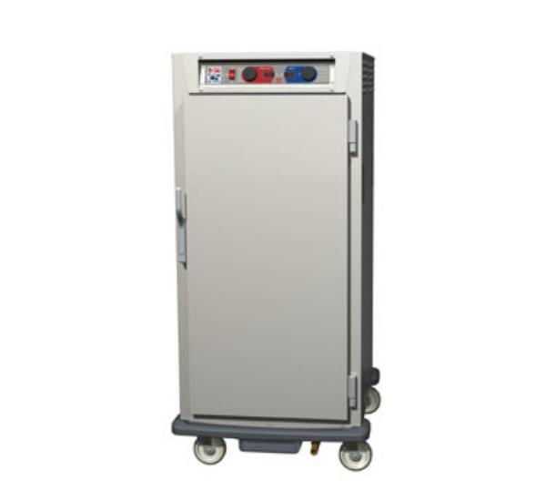 Metro C597-NFS-U C5 9 Series Heated Cabinet, Solid Door, 3/4 Height, Uni Slides, Alum