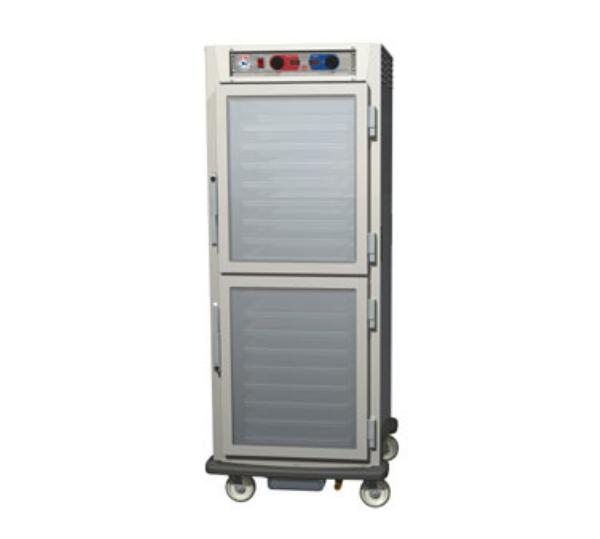 Metro C599-NDC-L C5 Full Height Control Temp & Humidity, Aluminum, Clear Dutch, Li