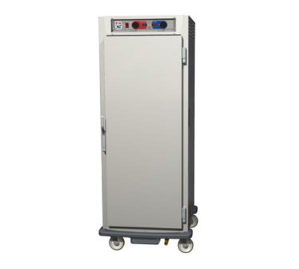 Metro C599-NFS-UPFC C5 Full Height Pass Thru Control Temp/Humid, Aluminum, Solid/Clear, Universal
