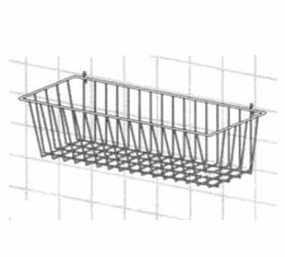 Metro H212C Smartwall G3 Storage Basket, 17-3/8 x 7.5 x 10-in, Chrome