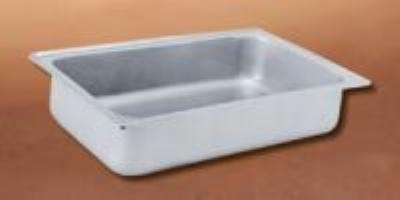 Polar Ware 1046D Dripless Water Pan, 22-1/8 in x 14-1/8 in x 6-3/8 in, Stainless Steel