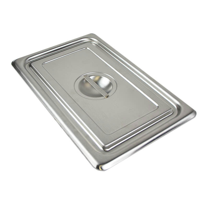 Polar Ware 12022 Stainless Solid Utility Pan Cover w/Handle For Model 1202, NSF