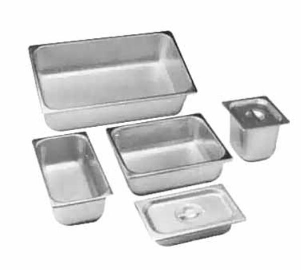 Polar Ware 1311-2 Steam Table Pan Cover, 1/2 Size, Solid w/Handle, Stainless Steel