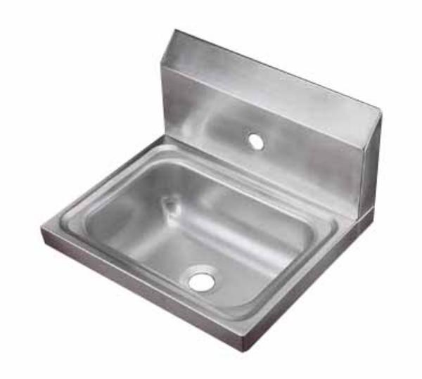 Polar Ware 1411 Yukon Hand Sink, Wall Mount, 17 in x 15 in x 5-1/2 in