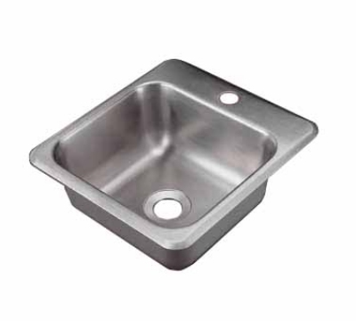 Polar Ware 1551 Bar or Waitress Drop-In Hand Sink w/ 1-Hole For Faucet