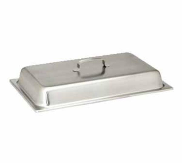 Polar Ware 2002E Full Size Stainless Steam Pan Dome Cover, Handle