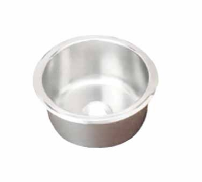Polar Ware 201260 10-5/16-in Round Drop-In Stainless Sink, 5-3/4-in Deep