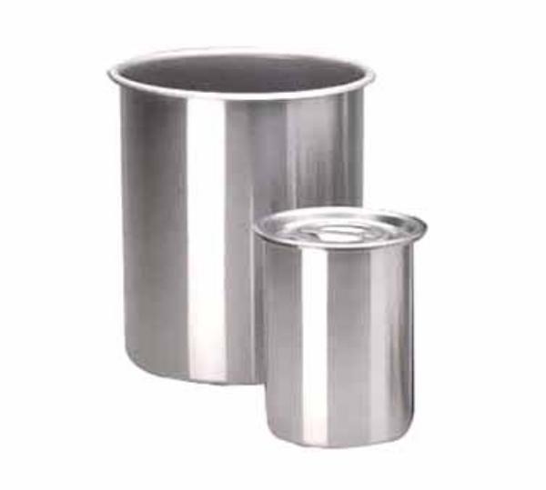 Polar Ware 12Y Bain Marie Pot 12-1/8 qt. Stainless Steel NSF Restaurant Supply