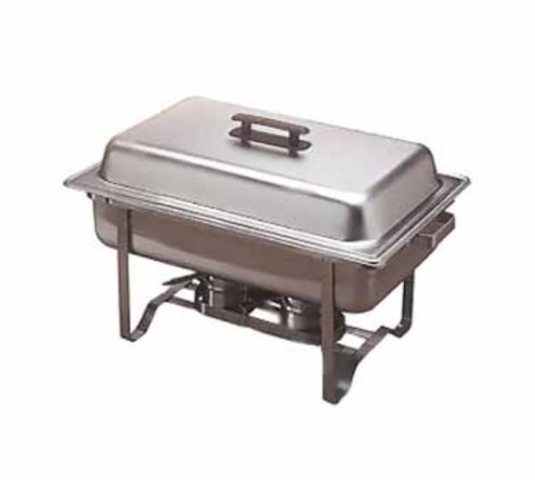 Polar Ware 4510-1 Stackable Rack Only For Full Size Chafer Stainless Steel Restaurant Supply