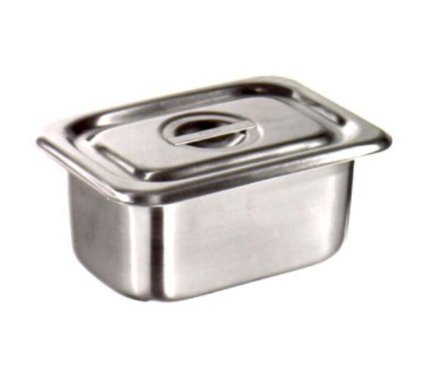 Polar Ware 952-PAN Utility Pan, 1-1/8 qt., No Handles, Stainless Steel, NS