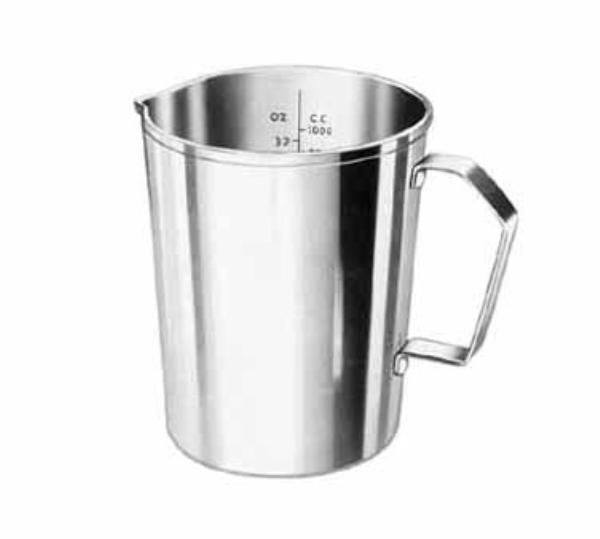 Polar Ware T1064 Graduated Measure, 64 oz., Stainless Steel with Handle