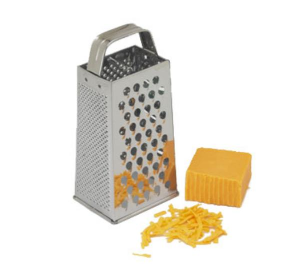 Polar Ware T1404 Grater, 4 Sided, Stainless Steel