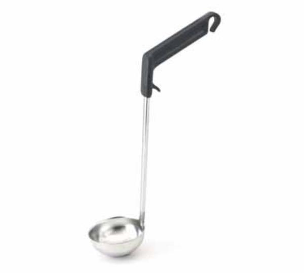 Polar Ware T2506 6 oz Ergonomic Ladle, One-Piece, Stainless Steel