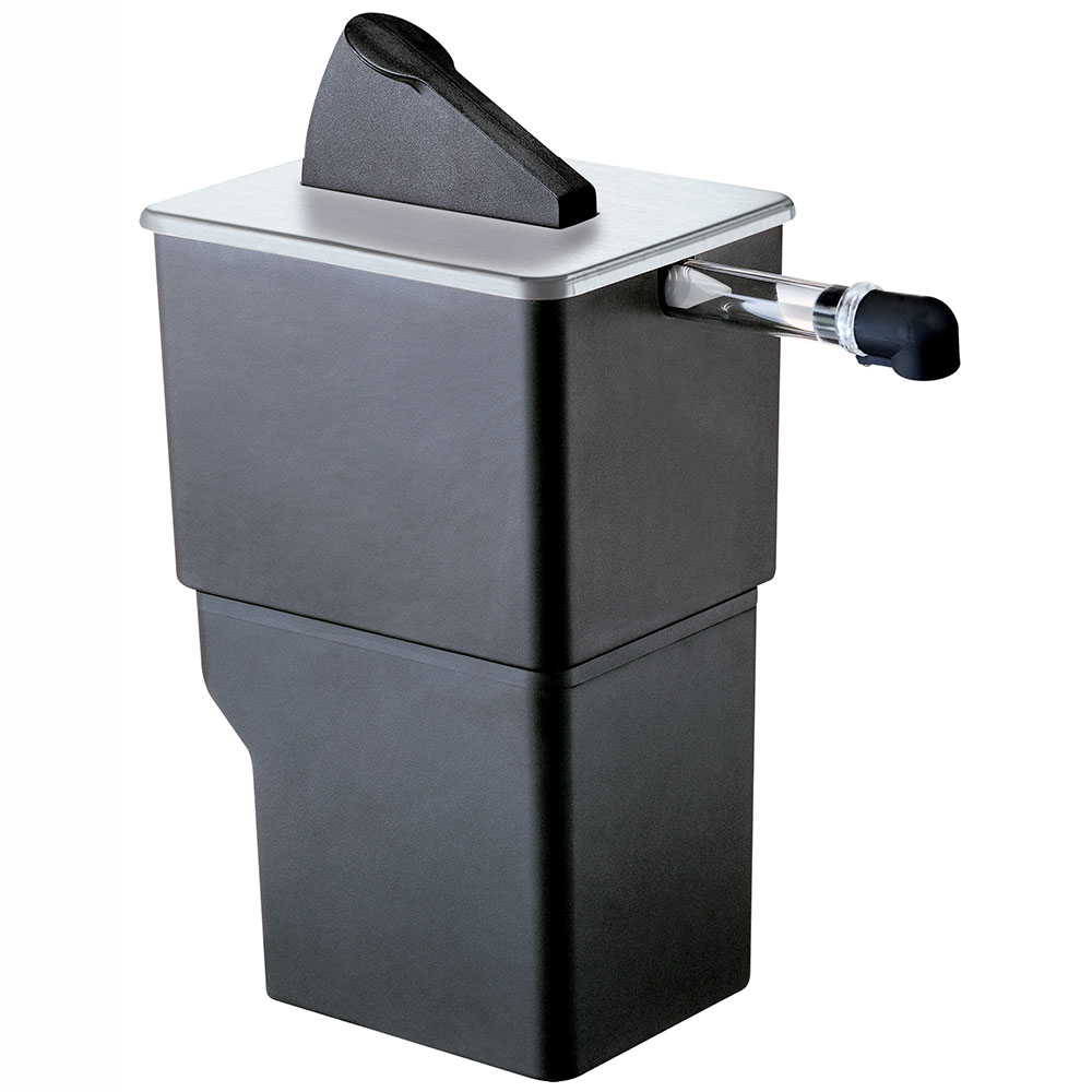 Server Products 07000 1.5-Gallon Dispenser, Portion Control For 1-Pouch, Black