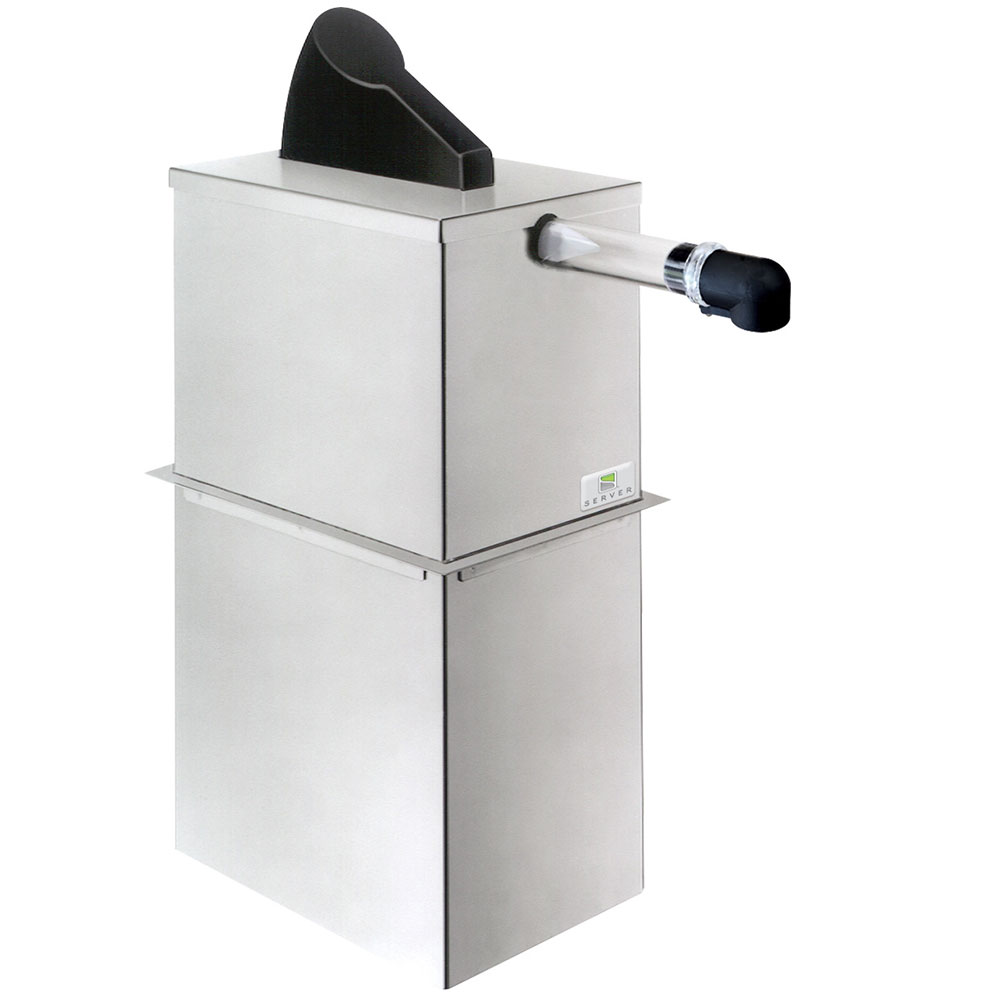 Server Products 07020 1.5-Gallon Dispenser, Portion Control For 1-Pouch, Stainless