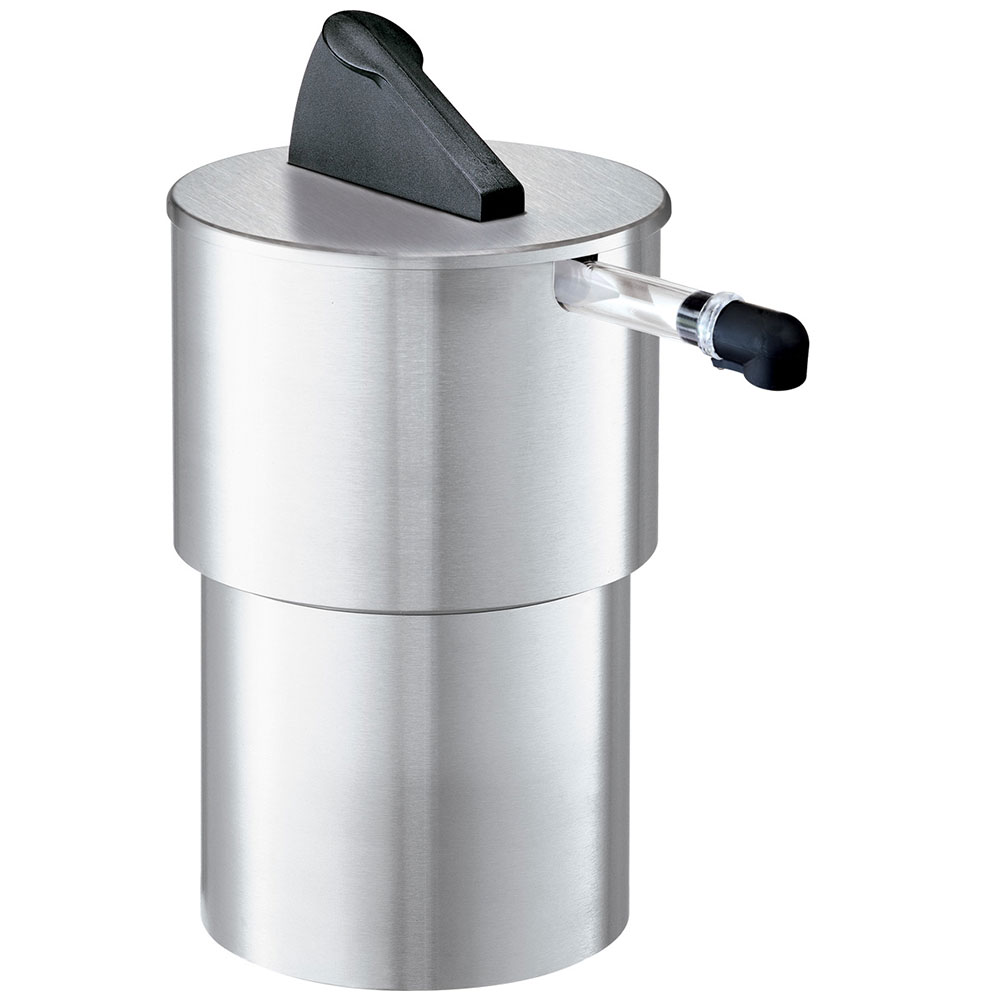Server Products 07030 1.5-Gallon Round Dispenser, Portion Control For 1-Pouch, Stainless