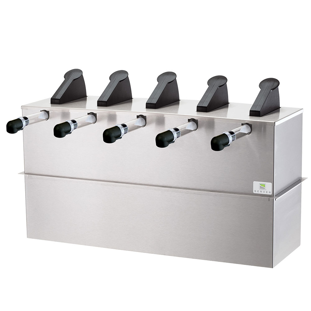Server Products 07070 SE-5DI Server Express, 5 Pumps, SS Base & Lid, 6 L C