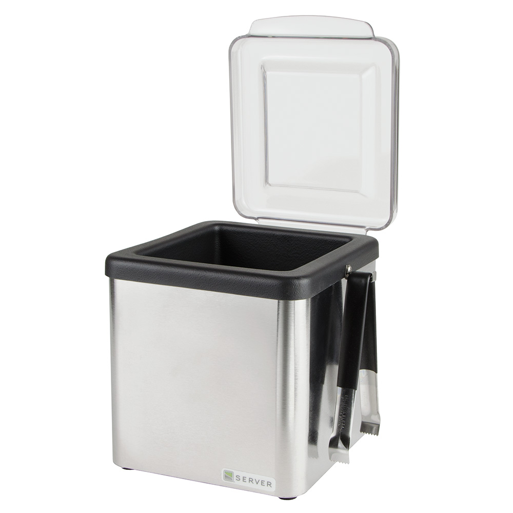 Server Products 67860 Insulated Chiller, Holds 1/6 6 in D Pan, Clear Lid