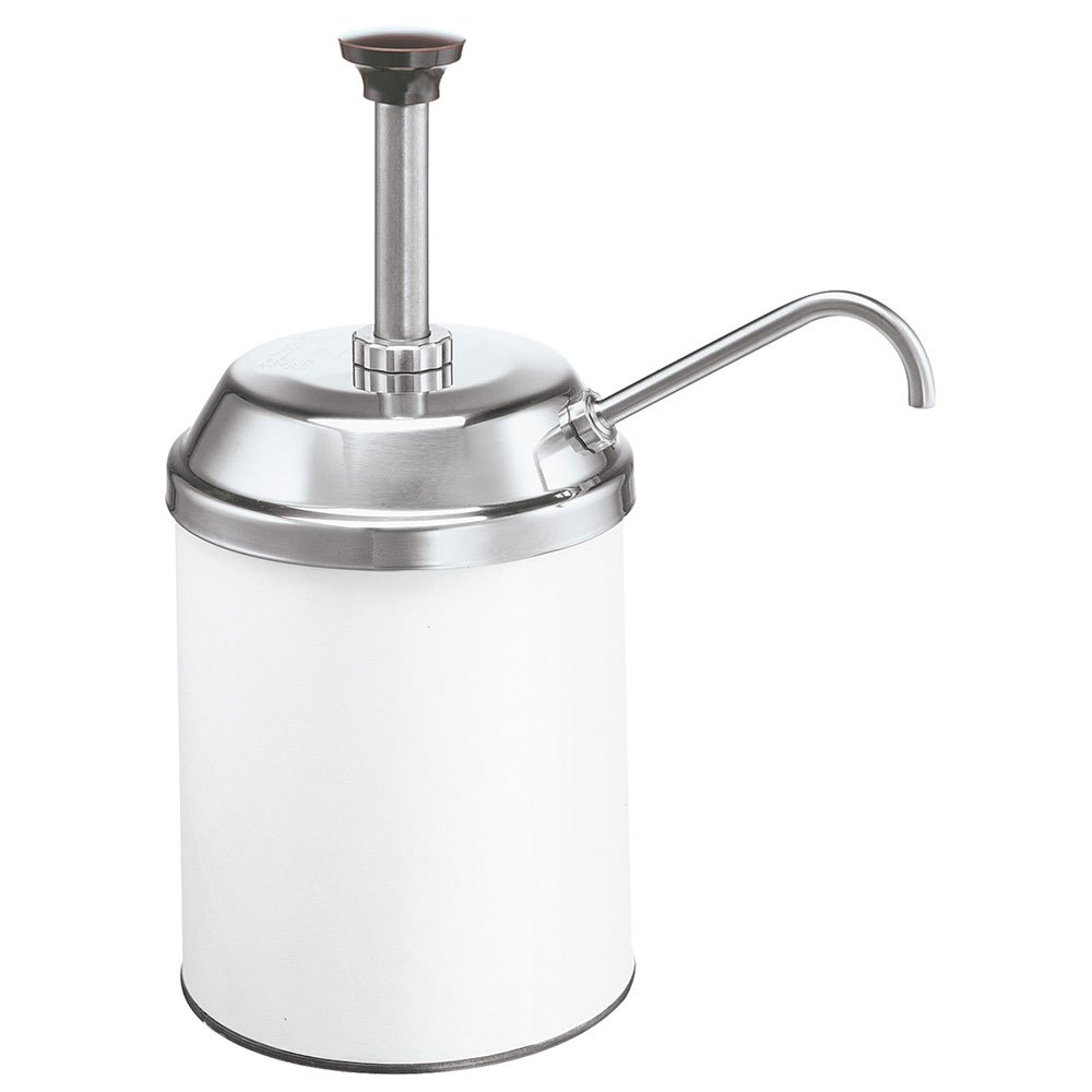 Server Products 83000 Condiment Pump, SS, Uses #10 Can, NSF