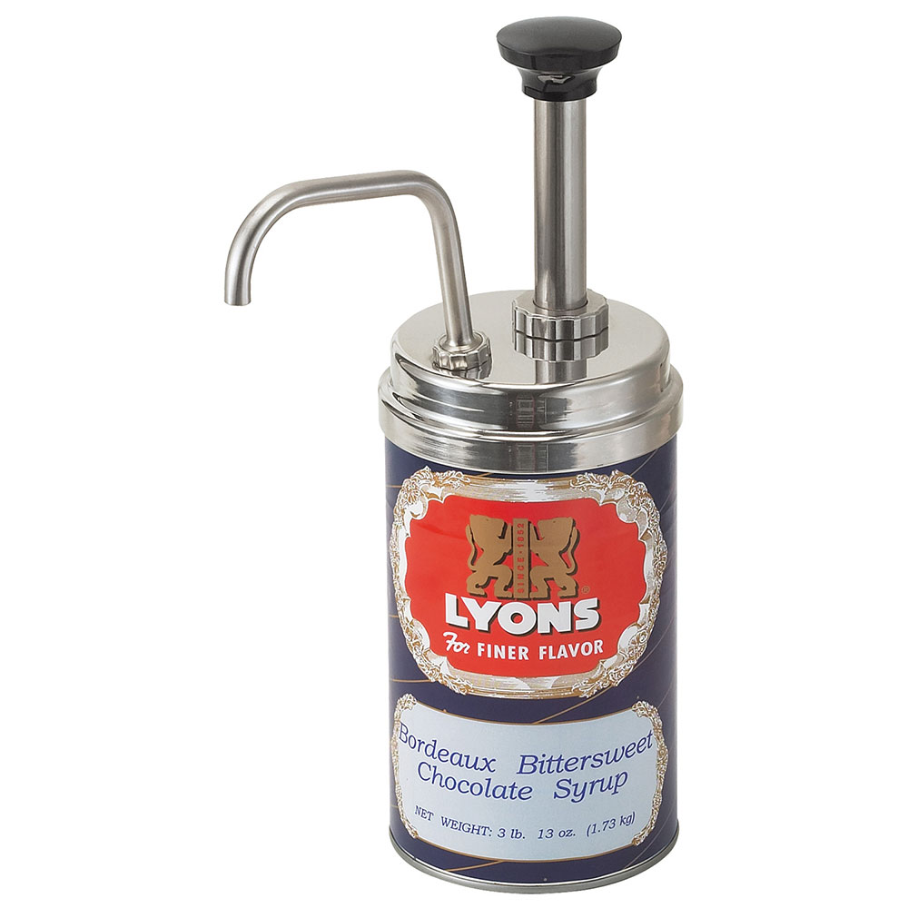 Server Products 85320 Syrup Pump, SS, Use #5 Can, NSF