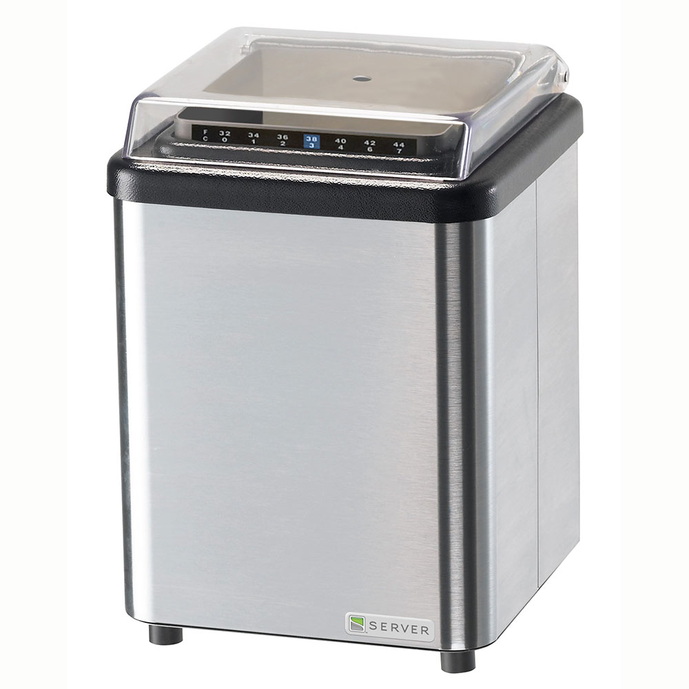 Server Products 86070 Cold Food Holding Countertop Chiller, 2 qt Capacity, NSF