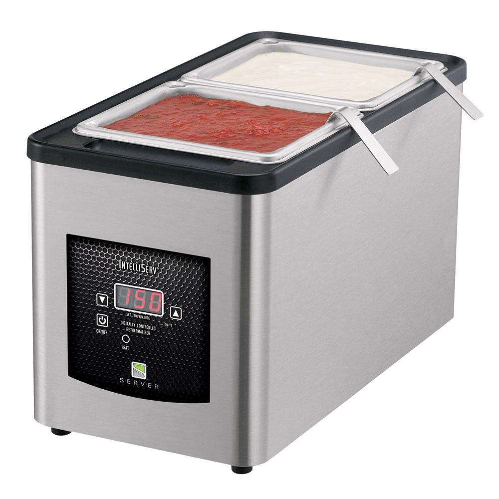 Server Products 86090 Pan Warmer w/ Digital Temperature Control, 1/3-Size, for Rethermilization