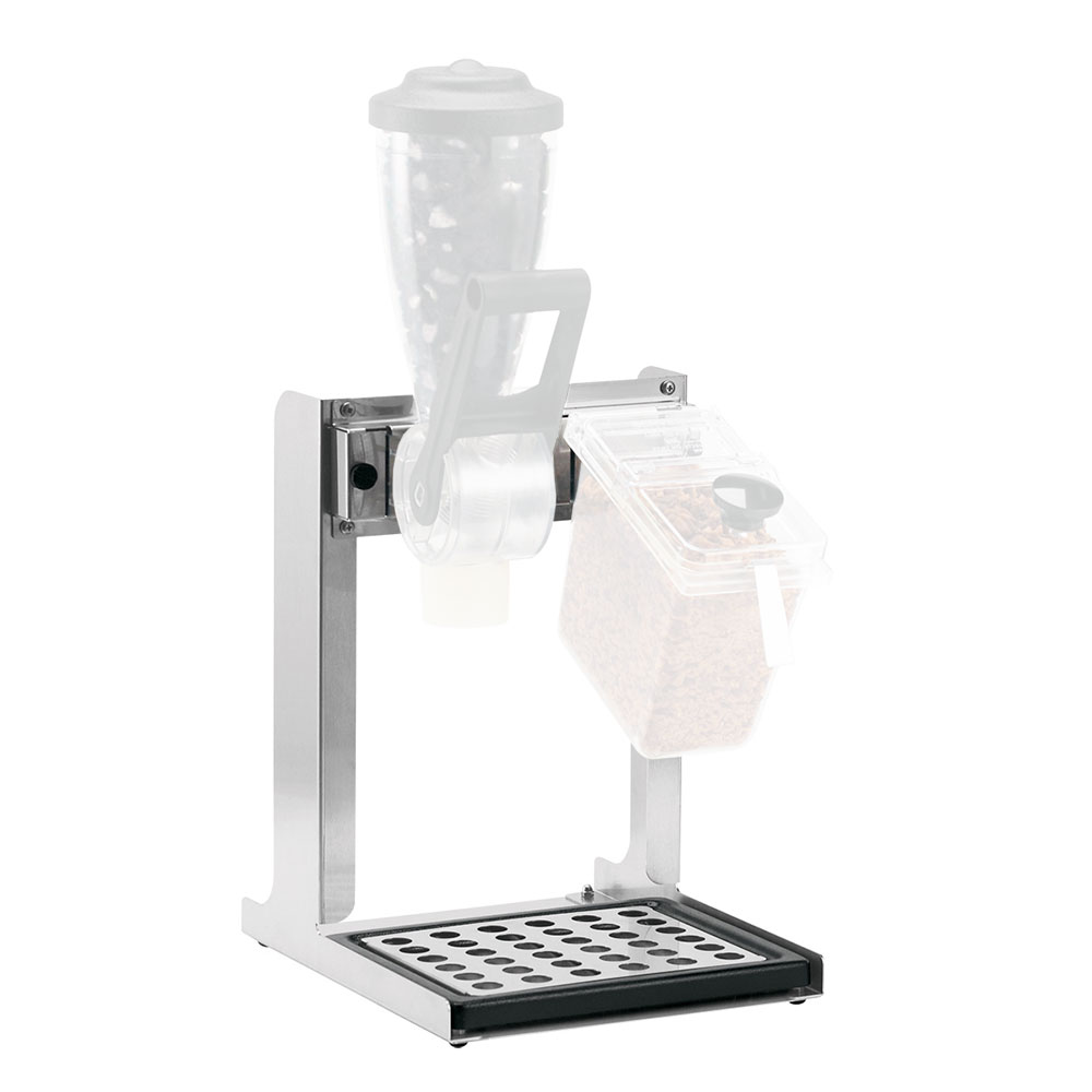 Server Products 86561 Dry Dispenser w/ Stainless Countertop Stand & Removable Catch Tray