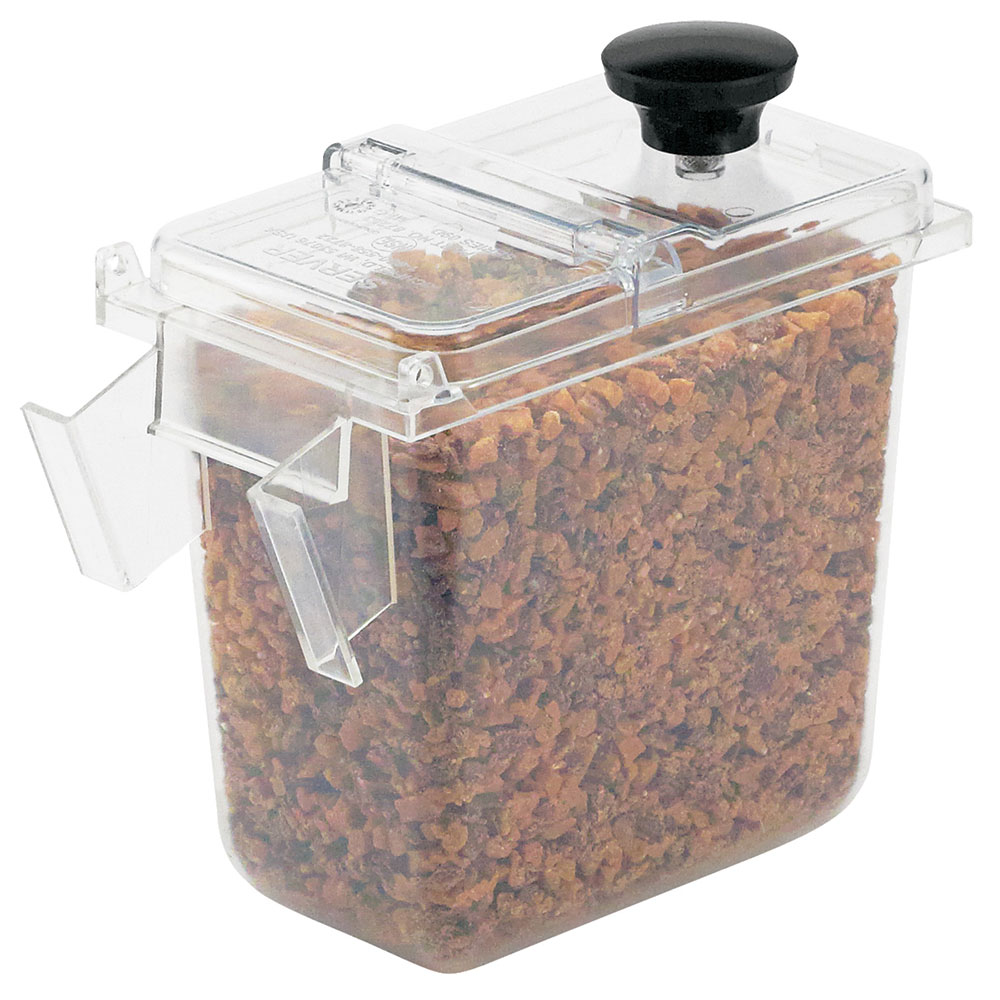 Server Products 87199 Wall Mount .1-Size Jar w/ 1.9-qt Capacity, Clear