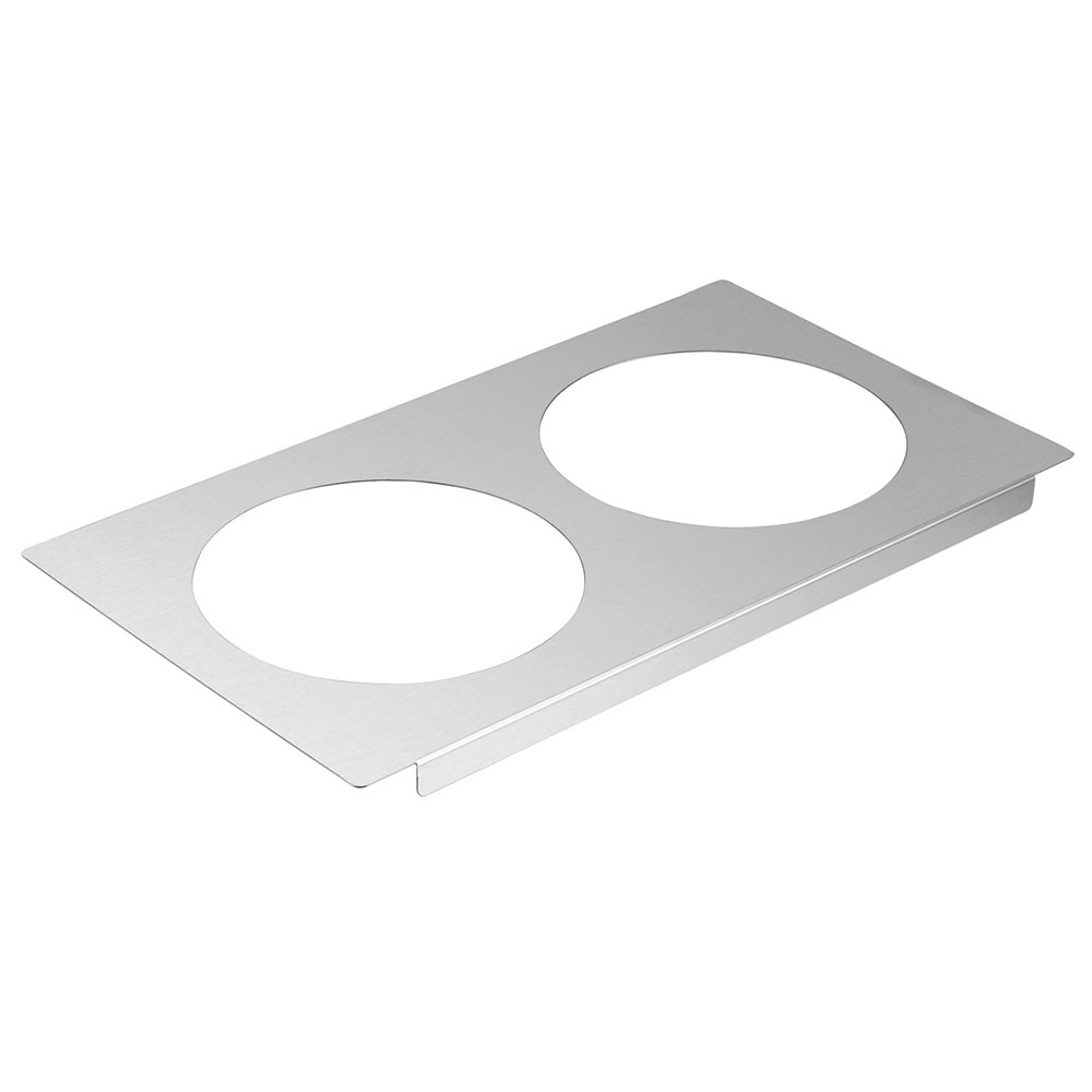 Server 90195 Adapter Plate with (2) 8-1/2 in Inset Holes Restaurant Supply