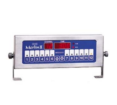 Prince Castle 740-T12 12-Channel Single Function Electric Timer, Bold LCD Readou