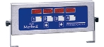 Prince Castle 740T44 4-Channel Electric Timer, Multi Display, Bold LCD Readout, 120 V