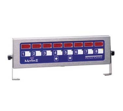 Prince Castle 740-T88H 8-Channel Multi-Display Horitzonal Electric Timer, Bold LCD