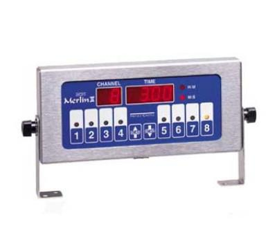 Prince Castle 740-T8 8-Channel Single Function Electric Timer, Bold LCD Readout